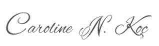 Caroline Koç imza