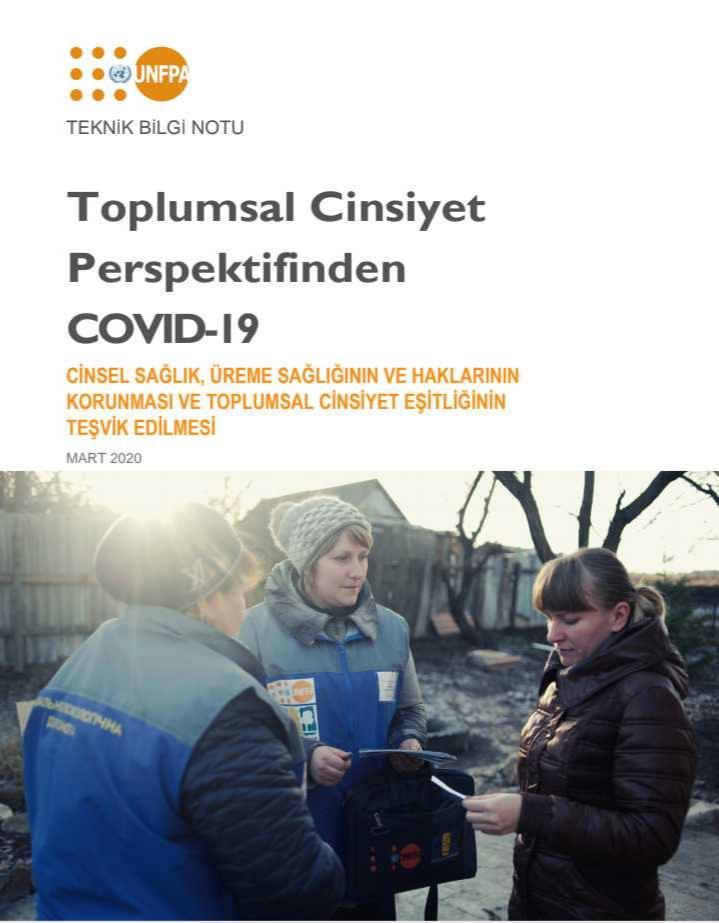 Covid 19 UNFPA Görseli