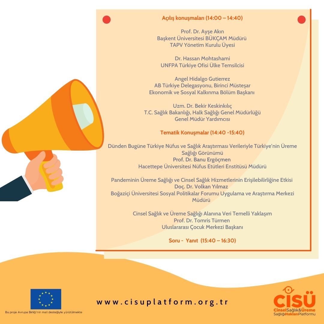 CİSÜ-Program duyuru