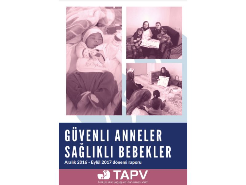 Güvenli Annelik Çalışma Raporu _ Aralık-Kasım 2016-2017