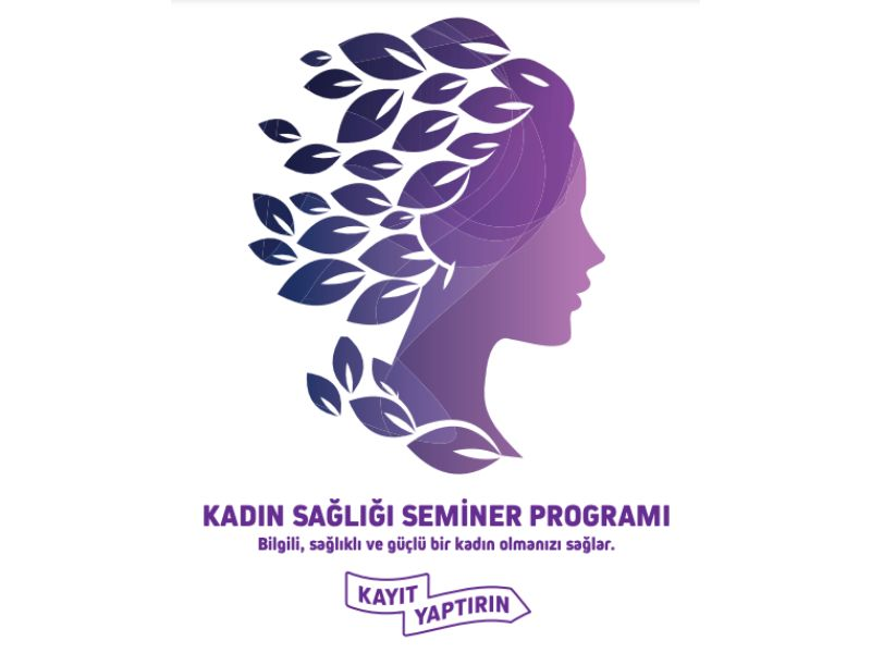 Kadın Sağlığı Seminerleri Tanıtım Afişi